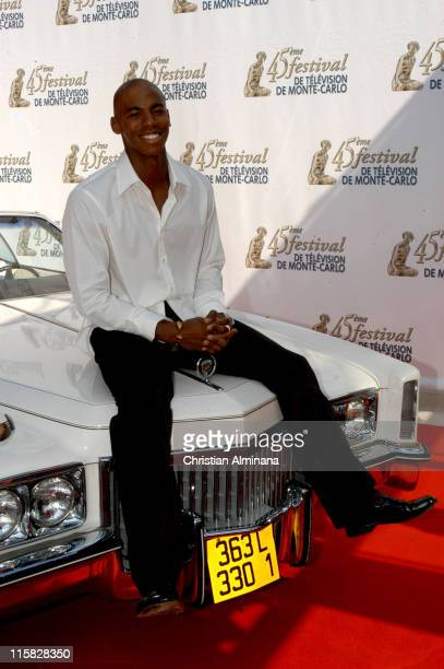 Mehcad Brooks during 45th Monte Carlo Television Festival Desperate Housewives Photocall at Grimaldi Forum in Monte Carlo Monaco