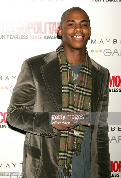 Mehcad Brooks during Cosmopolitan Presents Its Fun Fearless Male Awards Arrivals at Day After in Hollywood California United States