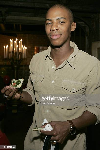 Mehcad Brooks during Silver Spoon Hollywood Buffet Day 1 at Private Residence in Beverly Hills CA United States Photo by Lee Celano/WireImage for...