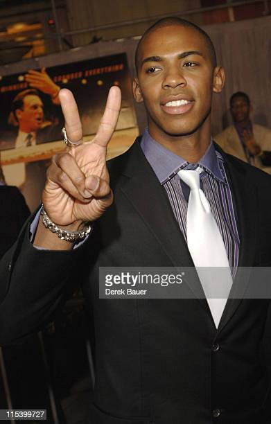 """Mehcad Brooks during Walt Disney Pictures and Jerry Bruckheimer Films' Premiere """"Glory Road"""" at Pantages Theatre in Hollywood, California, United..."""