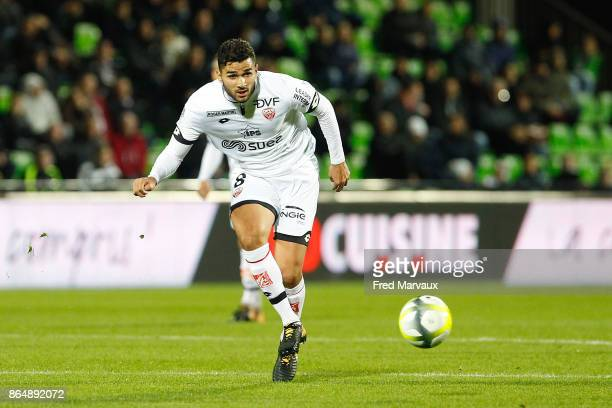 Mehdi Abeid of Dijon during the Ligue 1 match between Metz and Dijon FCO at on October 21 2017 in Metz