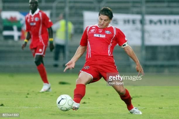 Mehdi MOSTEFA Nimes / Vannes 2eme journee de Ligue 2 Stade des Costieres Nimes