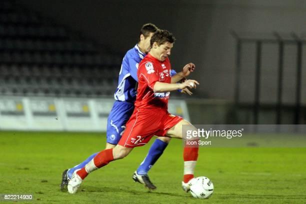 Mehdi MOSTEFA Nimes / Bastia 18eme journee de Ligue 2