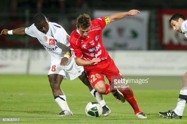 Mehdi MOSTEFA Nimes / Sedan 8eme journee de Ligue 2 Stade des Costieres Nimes
