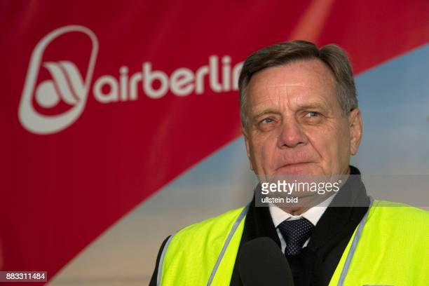 Mehdorn Hartmut CEO of AirBerlin Germany