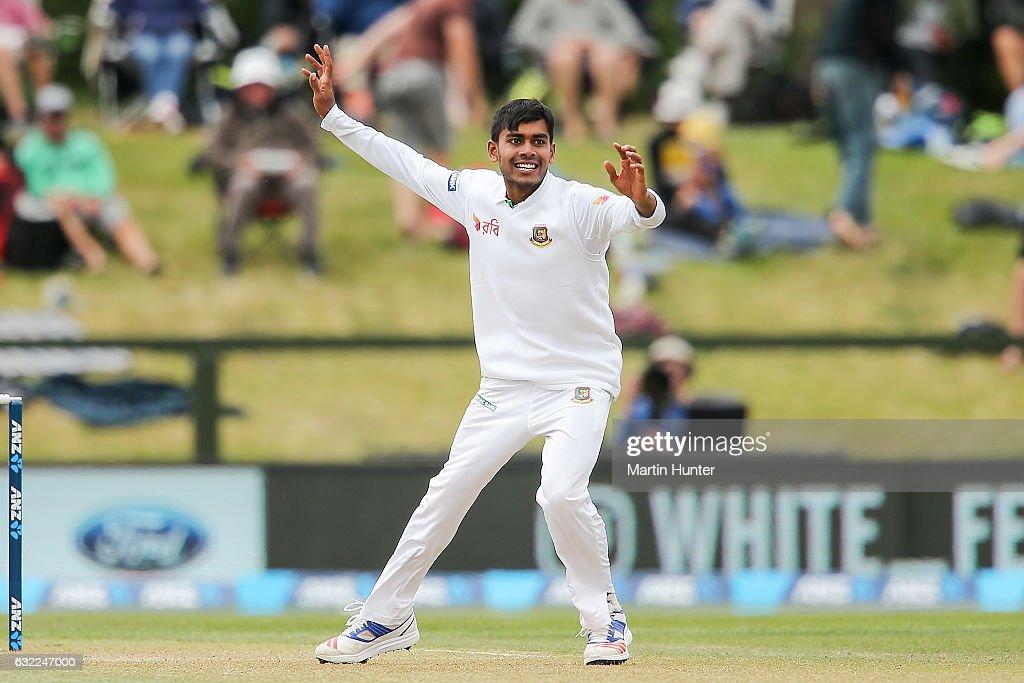 New Zealand v Bangladesh - 2nd Test: Day 2 : News Photo