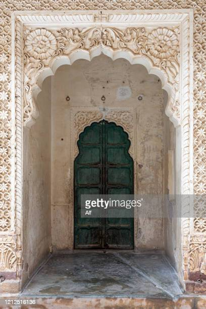 meherangarh fort in jodhpur, rajasthan, india - mughal empire stock pictures, royalty-free photos & images