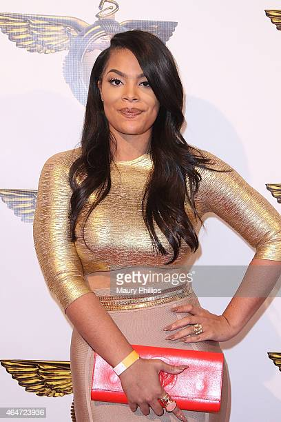 Mehgan James attends Daniel 'Booby' Gibson 'Booby's World' official birthday celebration at HOME on February 27 2015 in Beverly Hills California