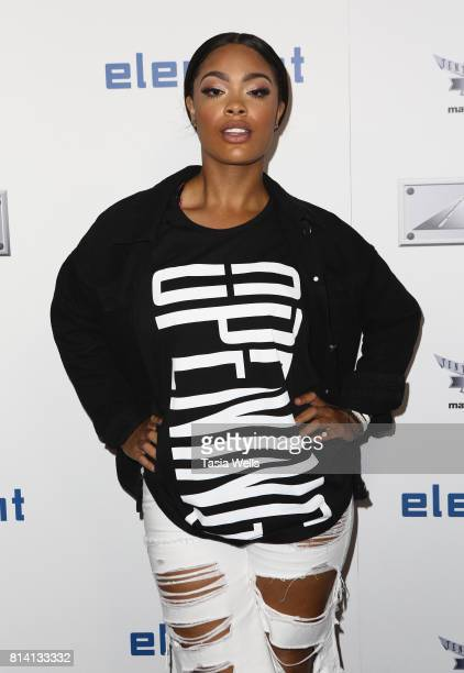 Mehgan James attends Matt Leinart Foundation's 9th Annual 'Celebrity Bowl' at Lucky Strike Lanes on July 13 2017 in Hollywood California
