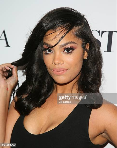 Mehgan James attends Star Magazine's Hollywood Rocks 2016 party held at Le Jardin on April 14 2016 in Hollywood California