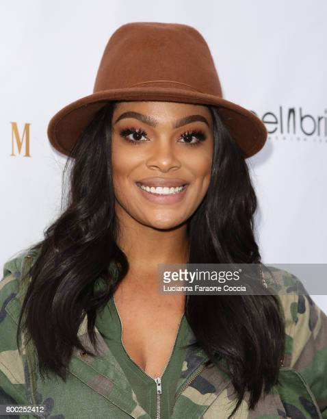 Mehgan James attends Yekim X Brinks a day party and fashion experience at Penthouse Nightclub Dayclub on June 23 2017 in West Hollywood California