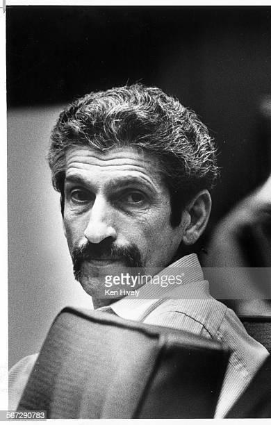 MEHillside30921–––Angelo Anthony Buono Jr hillside strangler in court in this 1984 photo