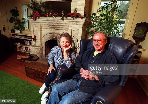 MEHistoric1218LS Portrait of Donna and Douglas Sutcliffe inside their 91–year–old Sierra Madre home which they and other owners of historic homes...