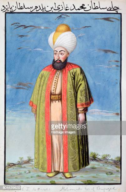 Mehmed I Ottoman Emperor Mehmed ruled from 14131421 He reunified the empire after its defeat by Timur at the Battle of Ankara in 1402 From A series...