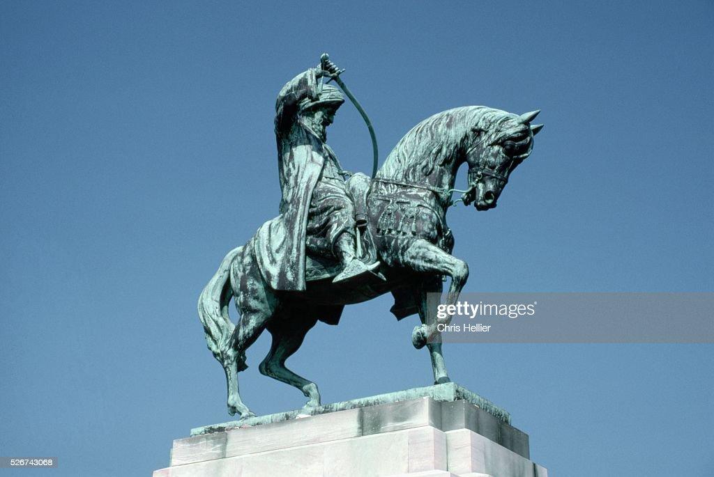 Equestrian Statue of Mehmet Ali, Pasha of Egypt : News Photo