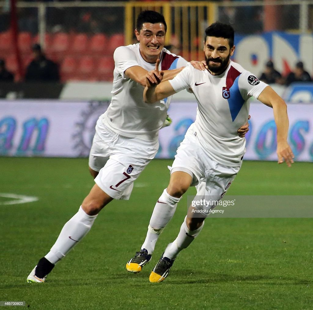 Turkish Spor Toto League: Mersin Idmanyurdu - Trabzonspor : News Photo