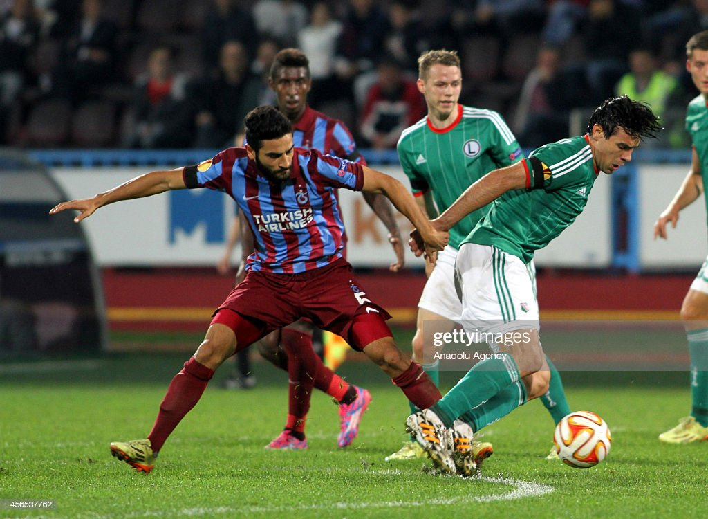 Trabzonspor v Legia Warsaw - UEFA Europa League : News Photo