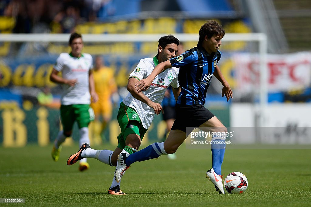 1. FC Saarbruecken v Werder Bremen - DFB Cup