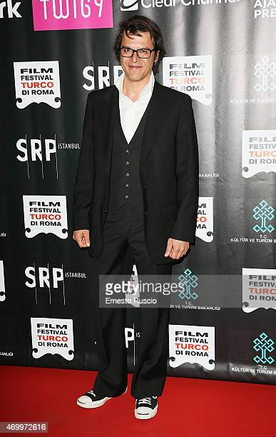 Mehmet Gunsur attends the Turkish Film Festival of Rome at Cinema Barberini on April 16 2015 in Rome Italy