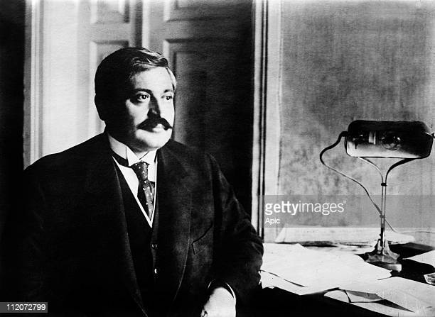 Mehmet Talaat Pacha turkish minister of internal affairs around 1914 famous for his position against armenians he was the organizer of armenian...