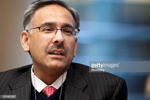 Mehmood Khan chief scientific officer of PepsiCo Inc speaks during an interview in New York US on Thursday Dec 9 2010 PepsiCo's acquisition of...