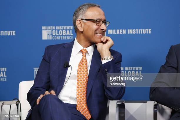 Mehmood Khan covice chairman of PepsiCo Inc attends the Milken Institute Global Conference in Beverly Hills California US on Monday May 1 2017 The...