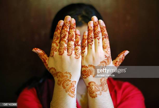 mehndi for eid-ul-azha - eid al adha stock pictures, royalty-free photos & images