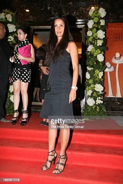 Mehr Rampal at the party thrown by jewellery designer Farah Khan