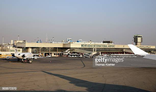 Mehrabad International Airport on October 18 2015 in Tehran Iran