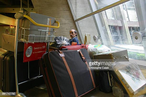 Mehran Karimi Nasseri who prefers to be known as Sir Alfred has been living in Charles de Gaulle Airport since 1988 after Britain refused him...