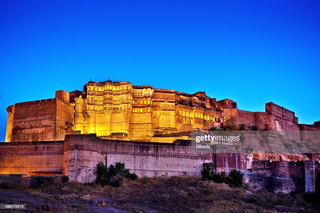 Mehrangarh Fort, Jodhpur, India : Stock Photo