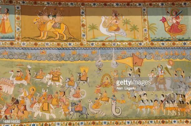 Mehrangarh Fort,Jodhpur,Rajasthan,India.