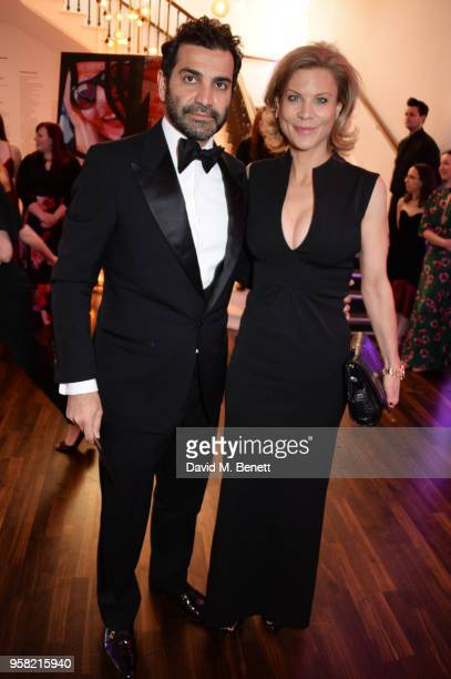 Mehrdad Ghodoussi and Amanda Staveley attend The Old Vic Bicentenary Ball to celebrate the theatre's 200th birthday at The Old Vic Theatre on May 13...