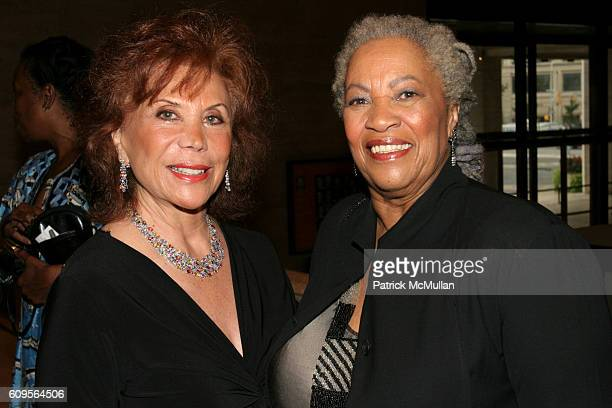 Mehri Danielpour Weil and Toni Morrison attend New York City Opera opens its Fall Season with the New York Premiere of Margaret Garner at New York...