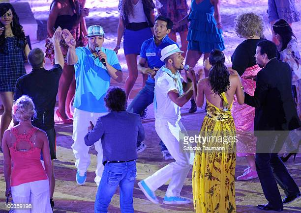 Mehrzad Marashi and Mark Medlock attend the Wetten Dass...? Summer Edition on May 23, 2010 in Palma de Mallorca, Spain.