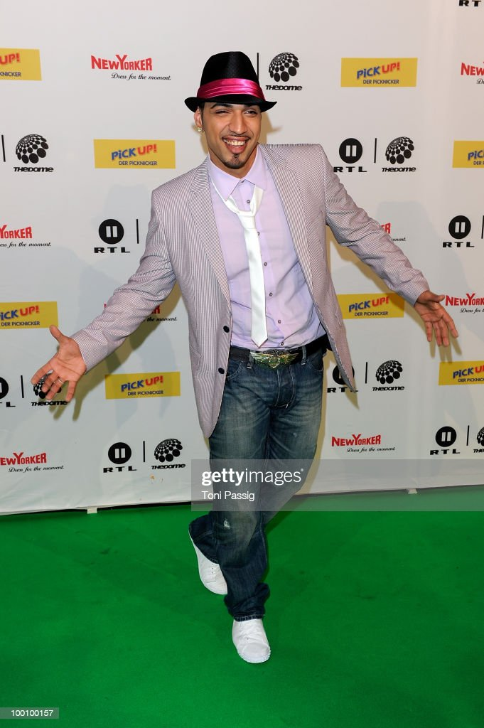Mehrzad Marashi arrives at 'The Dome 54' at Schleyerhalle on May 20, 2010 in Stuttgart, Germany.