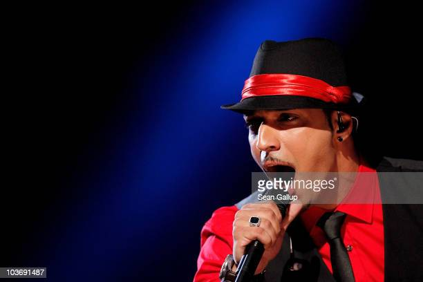 Mehrzad Marashi performs at The Dome 55 on August 27 2010 in Hannover Germany