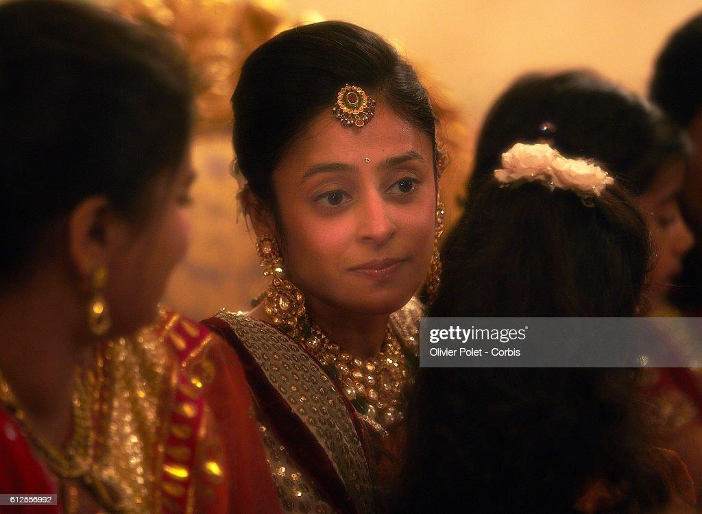 India Tradition Wedding Of Priyanka Choksi And Akash Mehta In Jodhpur News Photo