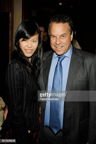 Mei Sze Chan Greene and Jeff Greene attend The Perlman Music Program Honors BILLY JOEL at The Metropolitan Museum of Art on May 3 2008 in New York...