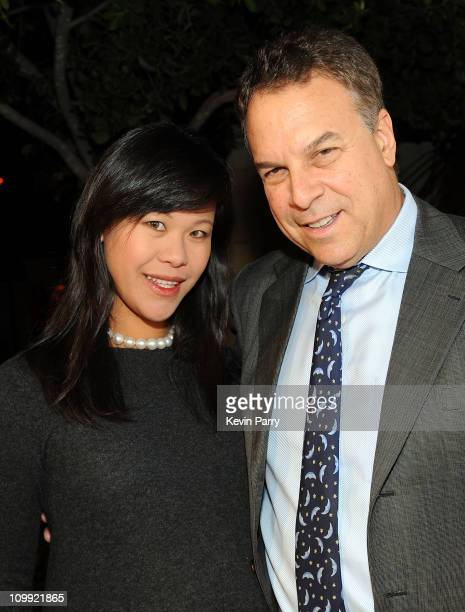 Mei Sze Greene and Jeff Greene arrive at the Somaly Mam Foundation's 2nd annual Los Angeles Gala held at a private residence on September 29 2009 in...