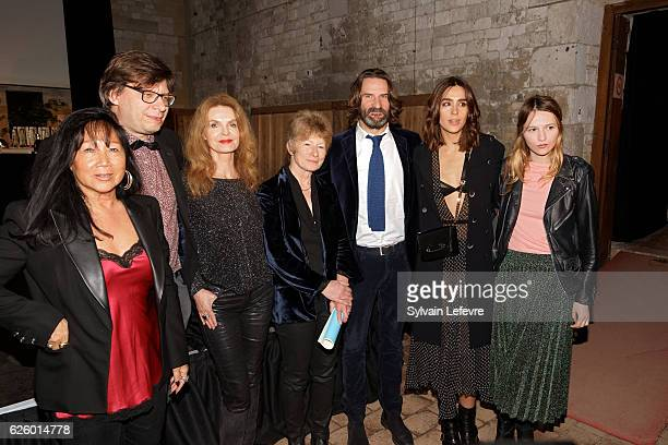 MeiChen Chalais Philippe Rouyer Cyrielle Clair Guest Frederic beigbeder Victoria Olloqui and Christa Theret attend closing ceremony of Russian Film...