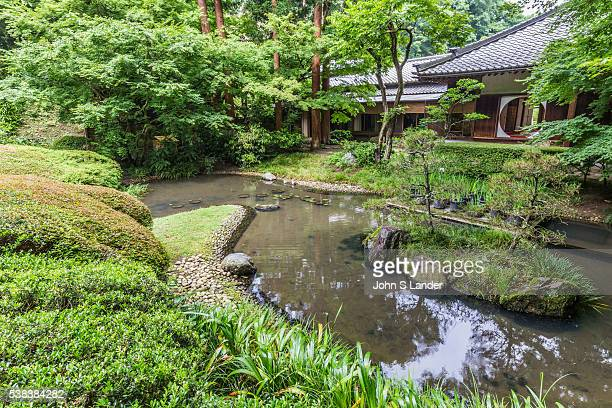 Meigetsuin Pond Garden Meigetsuin also known as Ajisaidera or Hydrangea Temple since many Hime Ajisai Princess Hydrangea are planted on the grounds...