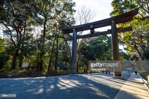 meiji shrine - meiji period stock pictures, royalty-free photos & images