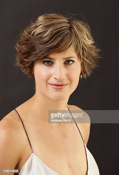 Meike Kroeger poses for a portrait during a DKB photo session on May 25 2011 in Berlin Germany