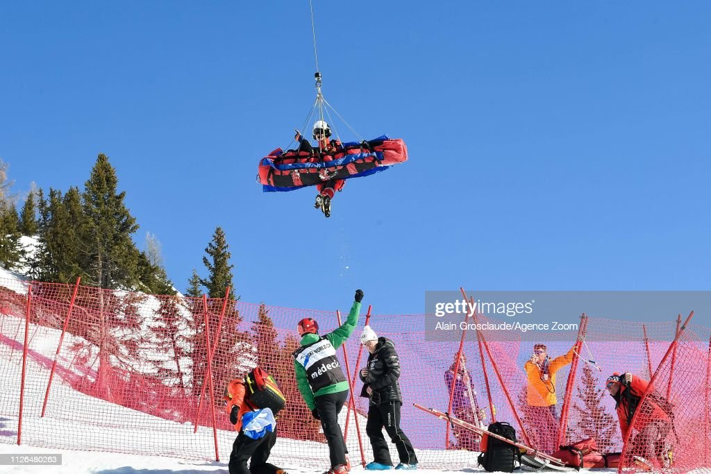 CHE: Audi FIS Alpine Ski World Cup - Women's Downhill Training