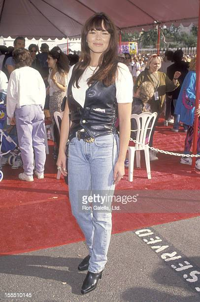 Meilani Paul attends the First Annual Revlon Run/Walk to Benefit Women's Cancer Research on May 7 1994 at 20th Century Fox Studios in Century City...
