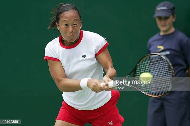 Meilen Tu at the 2007 ASB Classic in Auckland New Zealand on January 1 2007