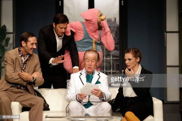 Meine Braut sein Vater und ich Komödie von Gérard Bitton und Michel Munz gastiert vom 25 Mai bis 10 Juli 2016 im Theater aan der Kö in Düsseldorf Max...