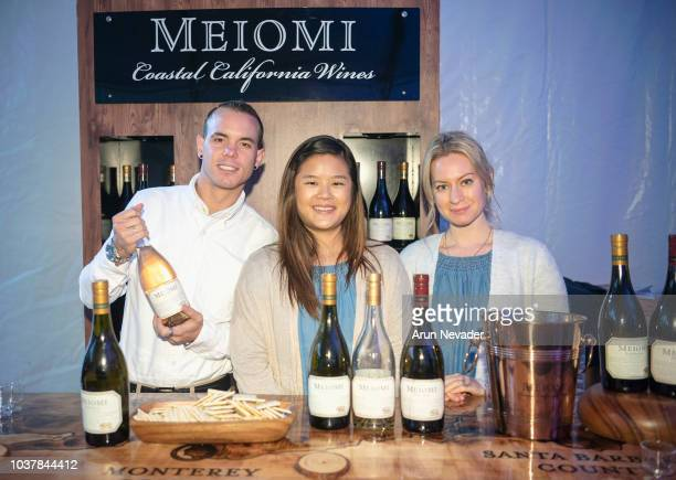 Meiomi wine as seen backstage at Vancouver Fashion Week Spring/Summer 19 Day 4 on September 20 2018 in Vancouver Canada