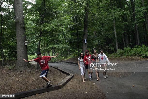 IranCamp DATE: July 2, 2007 CREDIT: Carol Guzy/ The Washington Post Clifton VA Left to rt: Ameen Soleimani, Nakisa Pourkay, Golshan Jalali, Parisa...
